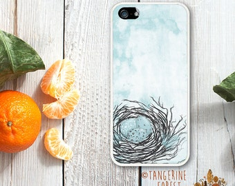 Robin's Egg In A Nest Case. Available for iPhone 4/4s, 5/5s, 5c, 6/6s or 6+/6s+