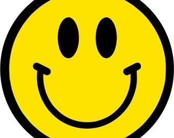 Smiley Face Coaster Housewarming Gift Under 10 Coaster
