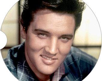 Elvis Car Coaster Cup Holder Coaster Gift Under 10 Elvis Collection Coaster
