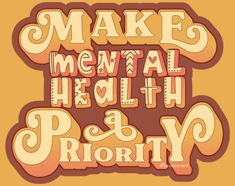 Make Mental Health a Priority | Short-Sleeve Unisex T-Shirt