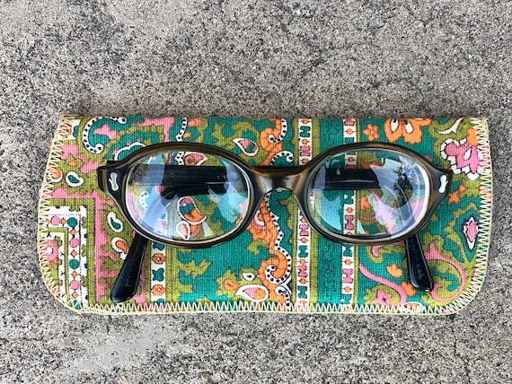 Original, vintage Liberty 1960s-era eyeglasses wit