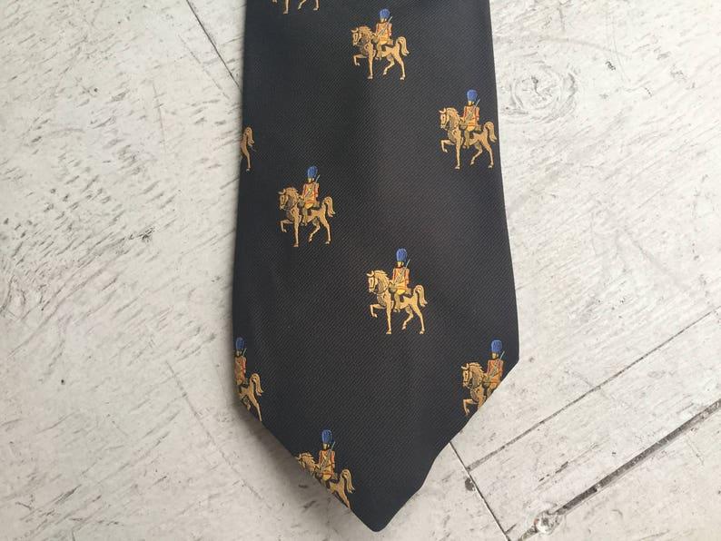 Des années 70 pour homme de Lanvin marron cravate   jouet  3e03d35c8cf
