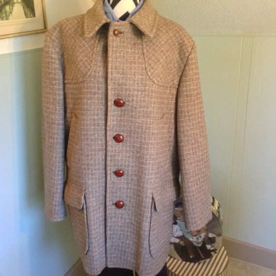 Pendleton Wool Coat, Size 46,Plus Size Pendleton C