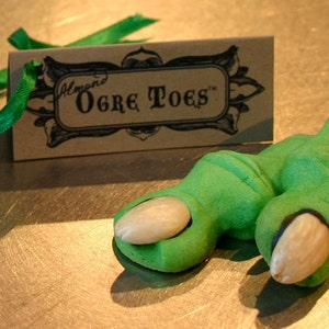 Ogre Toes Are Fun Cookies For Shrek Parties Halloween 1 Etsy