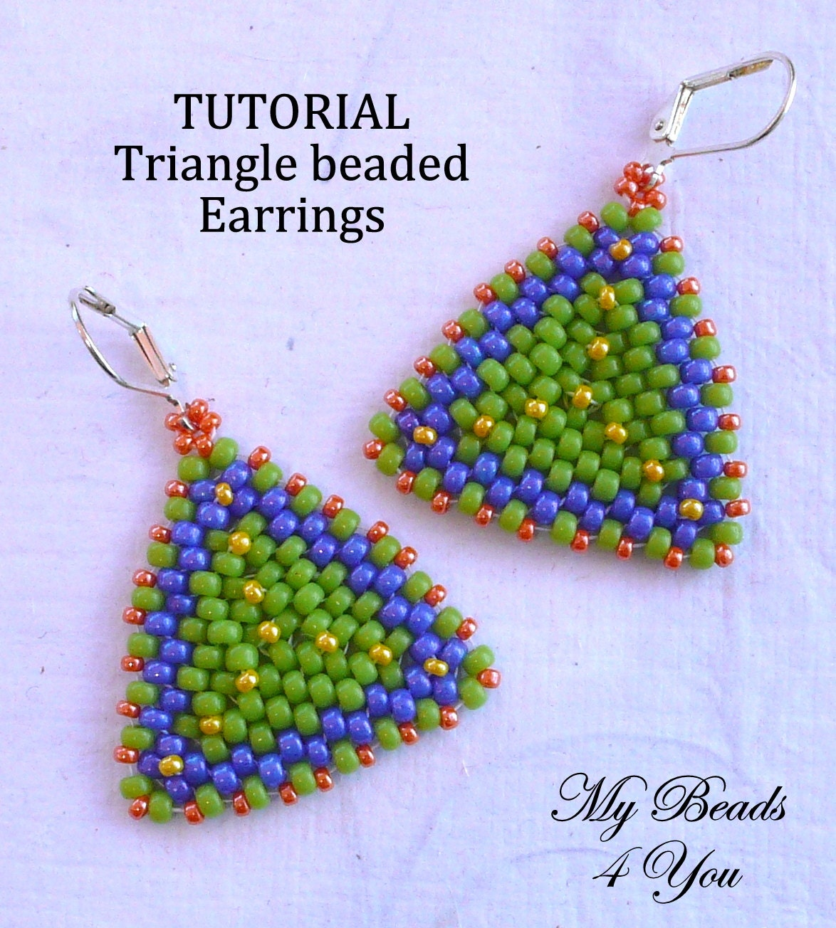 Beaded Earring Patterns For Beginners Unique Design Ideas
