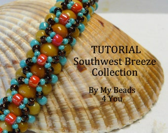 PDF Beading Tutorial,Beadweaving Tutorial,Bracelet Tutorial,PDF Beading Pattern,Seed Bead Tutorial, Beading instructions,Beadwork Tutorial