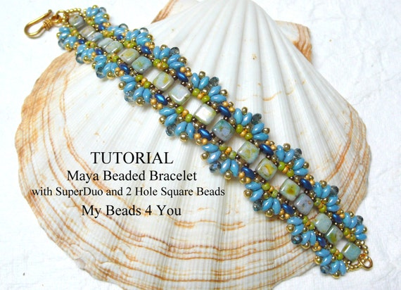 Beading Tutorials And Patterns Beading Instruction Seed Bead Etsy Mesmerizing Seed Bead Patterns
