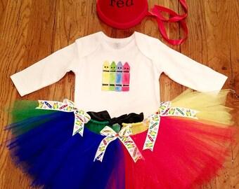 Cutie Crayon Costume Set