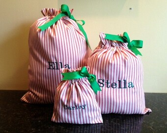 Personalized Christmas Gift Bag-Large