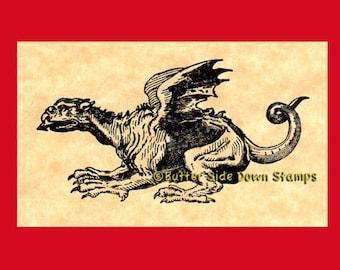 Basilisk Rubber Stamp