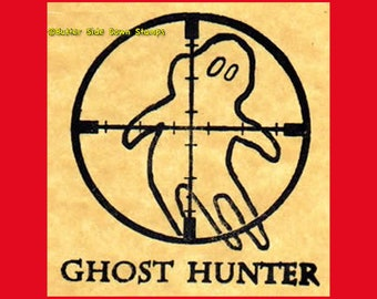rubber stamp French horn hunting hunter