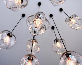 Glass pendant light etsy blown glass pendant lights pendant light installation hanging pendant lights glass globes interior design lighting lighting design aloadofball Gallery