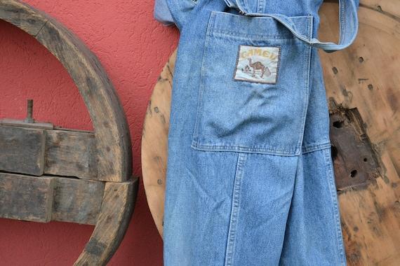 Working Class Hero - VNTG CAMEL Denim Jeans 70s Ov
