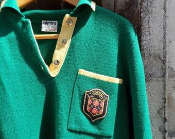 Almira - VNTG Green Sweatshirt, Yugoslavia 80s Sweater