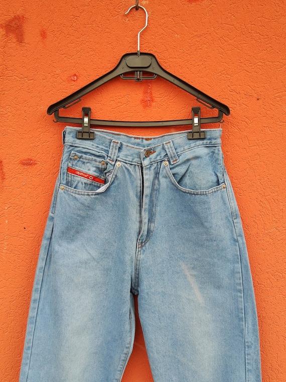DIESEL - VNTG Mum's Jeans// 90's Diesel Denim Pant
