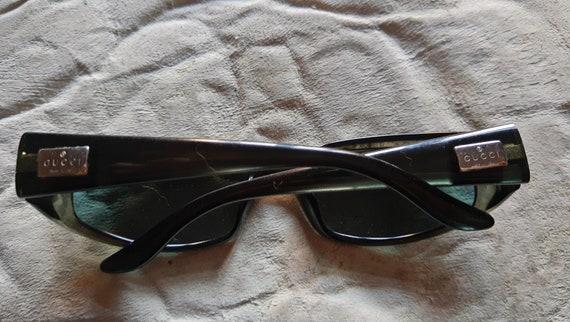 VNTG Gucci Sunglasses//Dark Green GUCCI 90s Sungl… - image 6