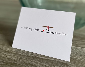 Nothing a Little Barre Can't Fix Card