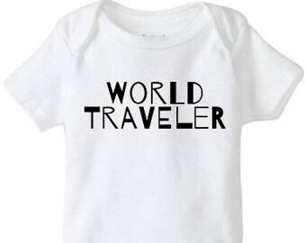 World Traveler Infant Onesies