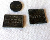 3 Scottish Tokens 17th and 18th Century