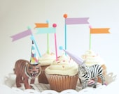 Flag Cupcake and Cake Toppers
