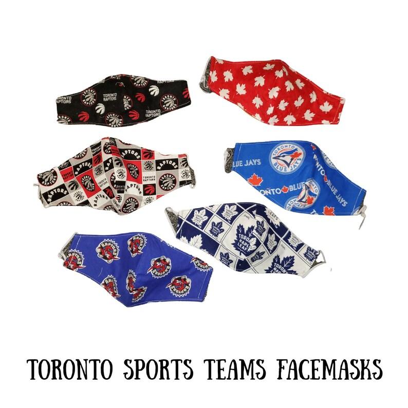 Blue Circlelogo: Logo Des Quipes De Toronto Facemasks Leafs Raptors Et