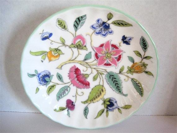 Minton Floral Dish, Haddon Hall, Collectible Dish, Bone China England
