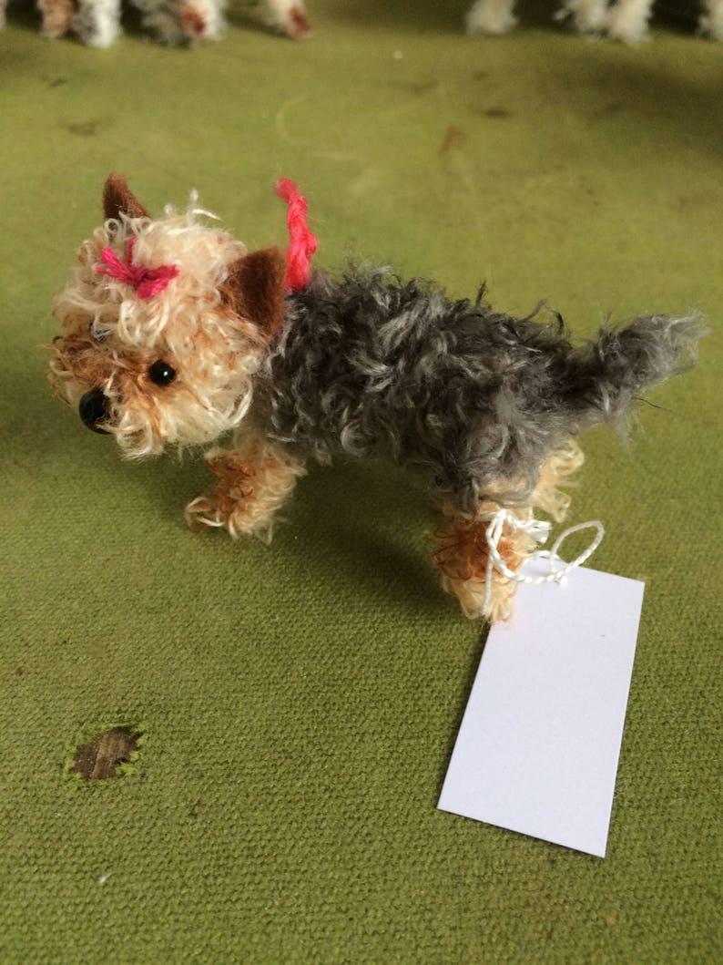 Miniature Yorkshire Terrier Decoration Etsy