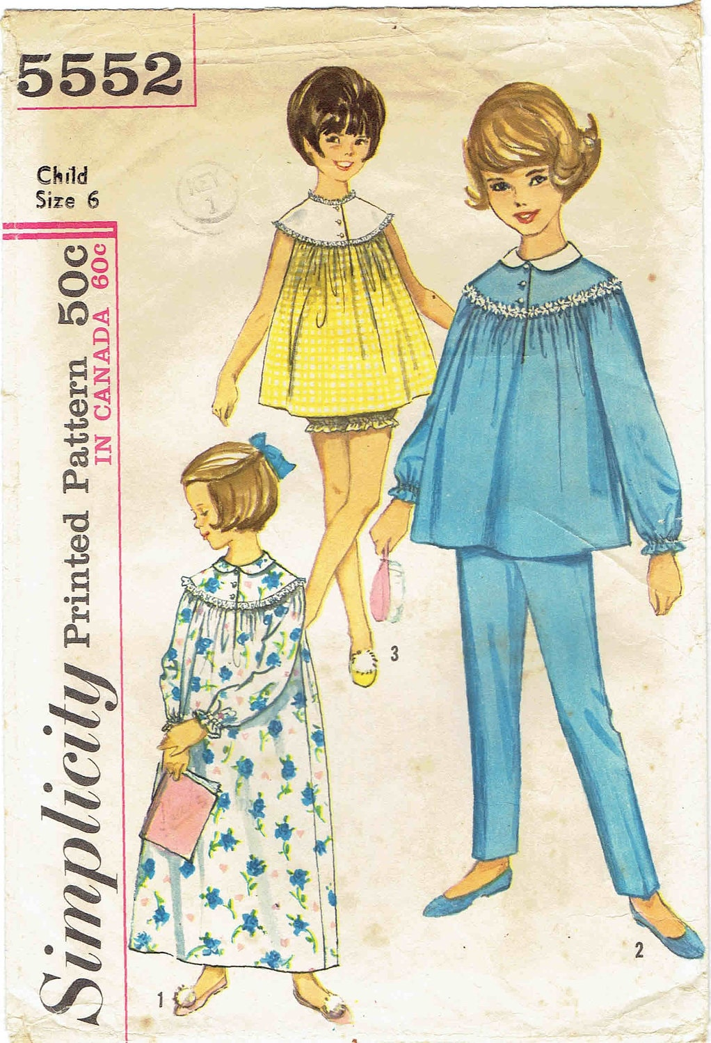 Nightgown Pattern New Design