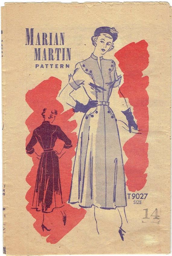 50er Jahre Marian Martin Mail bestellen Schnittmuster 9027. | Etsy