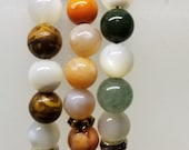 3 Gemstone Bracelets