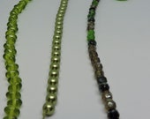 Shades of Green DIY Jewelry Kit