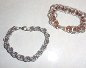 Chain Maille Bracelets - Two