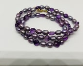 Shades of Purple Necklace...