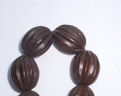 Dark Brown Wooden Beads