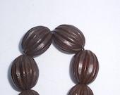Dark Brown Wooden Beads...