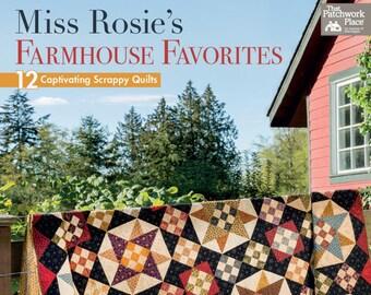 Miss Rosie's Farmhouse Favorites - One Book - Quilt Book - Quilt Patterns - B1400