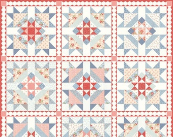 Victoria Four Queens Quilt Kit by 3 Sisters for Moda - Four Queens - KIT44160