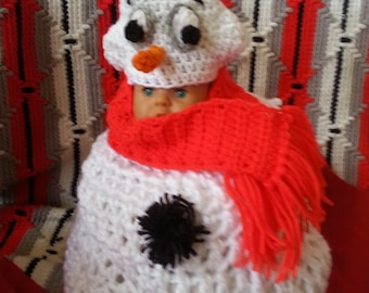 Snowman/woman Collection Costume/Photo Props 7 pieces