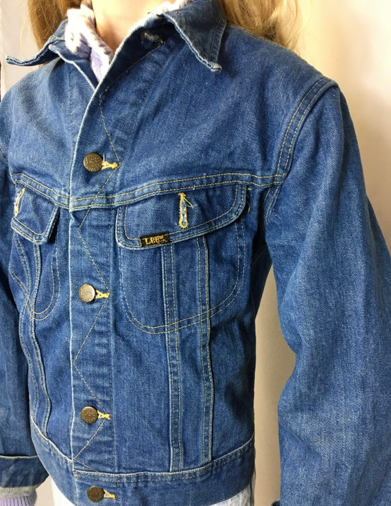1970s Vintage LEE Denim Jean Jacket