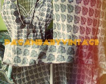 SALES Agate vintage sari silk Indian dress