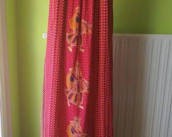 SALES Indian rare 1960s cotton dress