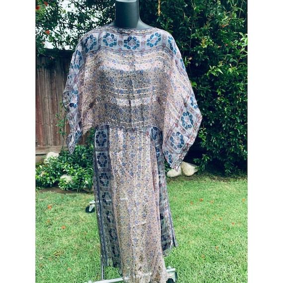 Icinoo Silk Farm SILK Hippie Kimono Sleeve Adini S