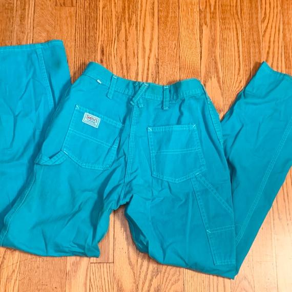 SMITH'S WORKWEAR TURQUOISE Pants