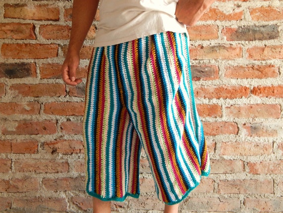Mens Baja Shorts Crochet Pattern Etsy Men Clothing Etsy