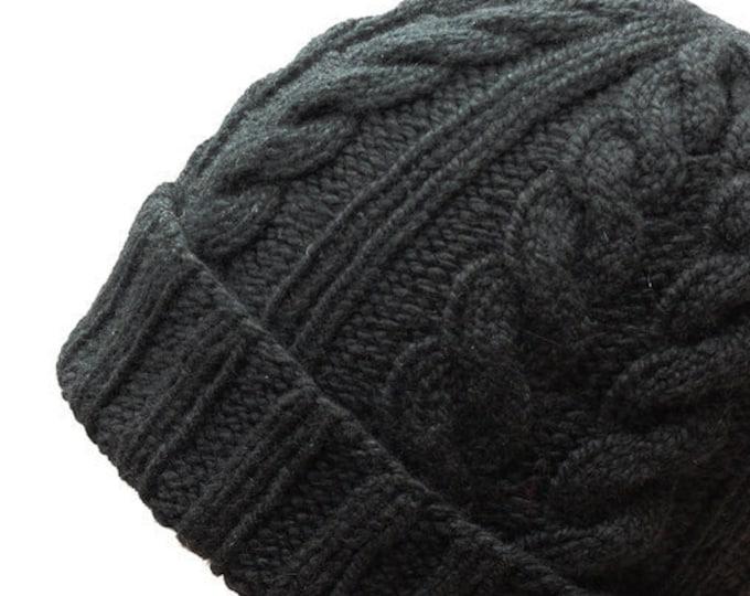 JULIEN Men's Cable Hat (PDF) Manual
