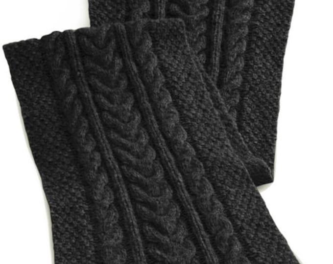 JULIEN Men's cable shawl (PDF) Manual