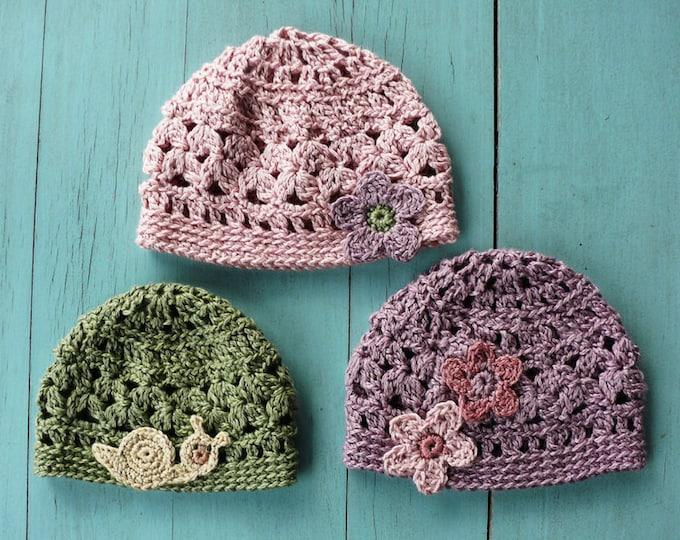 KIM Summer Crochet Cap for Children (PDF) Manual