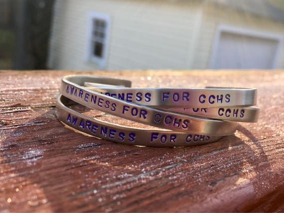 Awareness For CCHS Bangle Bracelet