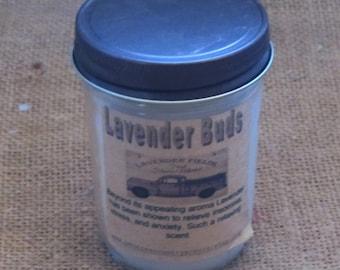 Farmhouse jelly jar candle Lavender Buds