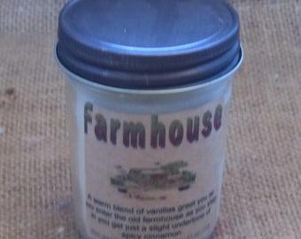 Farmhouse jelly jar candle Farmhouse